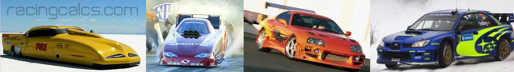 et mph cubic inch quarter mile racingcalcs